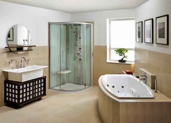 Modernes Badezimmer  inspirierende Fotos