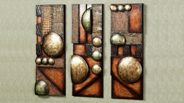 33 verblffende Ideen fr Wanddeko aus Metall  Archzinenet