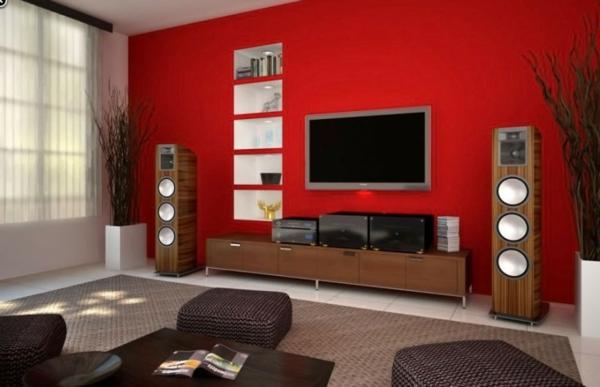 farb und wandgestaltung wohnzimmer - terrasseenbois - Wohnzimmer Wandgestaltung Farbe