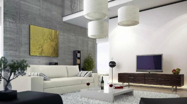 30 Fotos von origineller Wohnzimmer  Wandgestaltung