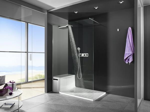 Moderne Duschkabine fr das Badezimmer  Archzinenet