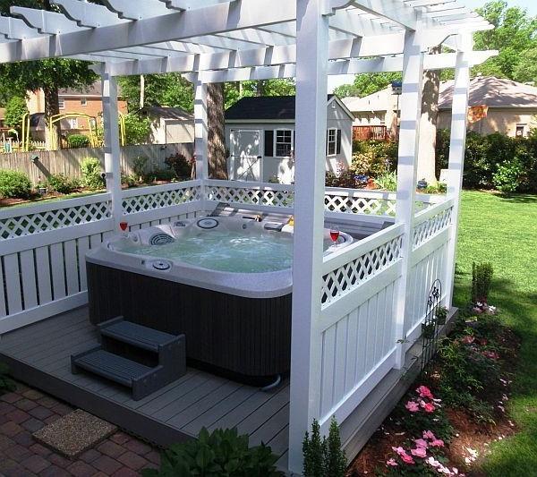 Whirlpool im Garten  100 fantastische Modelle  Archzinenet