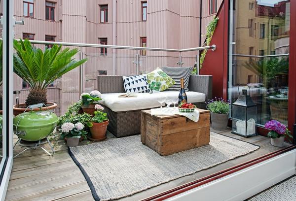 terrasse lounge mobeln einrichten – usblife, Terrassen ideen