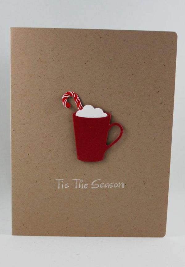 Schne Weihnachtskarten Selber Basteln Mehr Als 100 Ideen