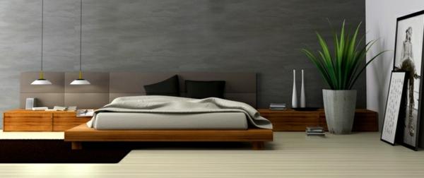feng shui im schlafzimmer schlafzimmer graue wande saftig grune, Schlafzimmer