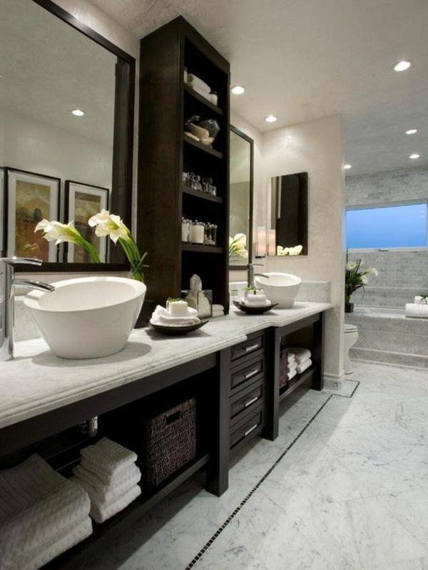 Modernes Badezimmer  Ideen zur Inspiration  140 Fotos  Archzinenet