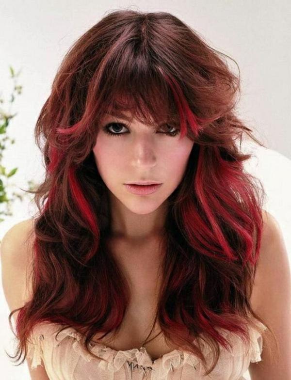Rote Haare Frisuren Rote Frisuren 2017