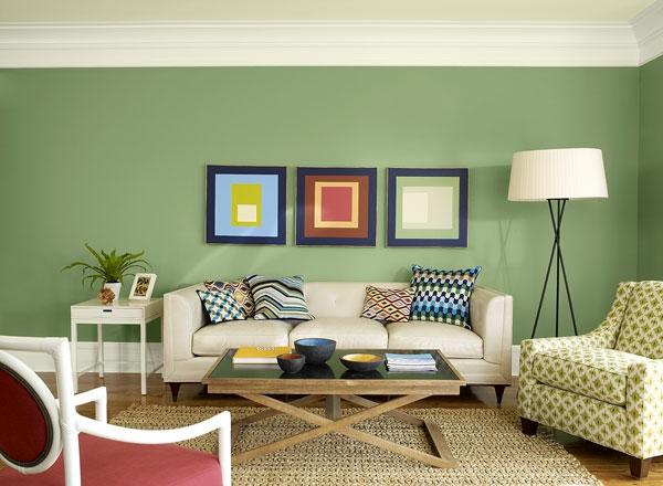 design wohnzimmer farben beispiele grun wohnzimmer streichen ... - Wohnzimmer Farben Beispiele Grun
