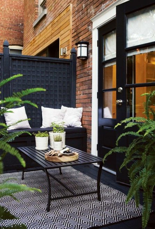 Schne Terrasse einrichten  100 tolle Ideen