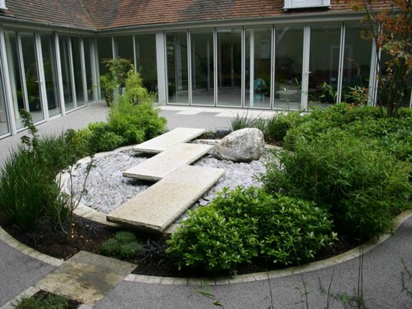 100 Unglaubliche Bilder Moderner Steingarten! Archzine Net