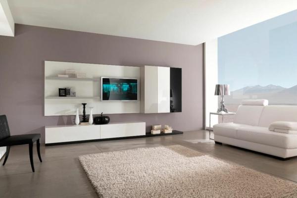 Wandfarben Ideen Fur Eine Stilvolle Und Moderne Wandgesteltung ... Farbideen Wohnzimmer Grau