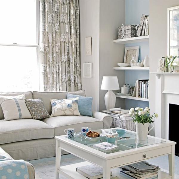 wohnzimmer braun blau ~ inspirierende bilder von wohnzimmer dekorieren