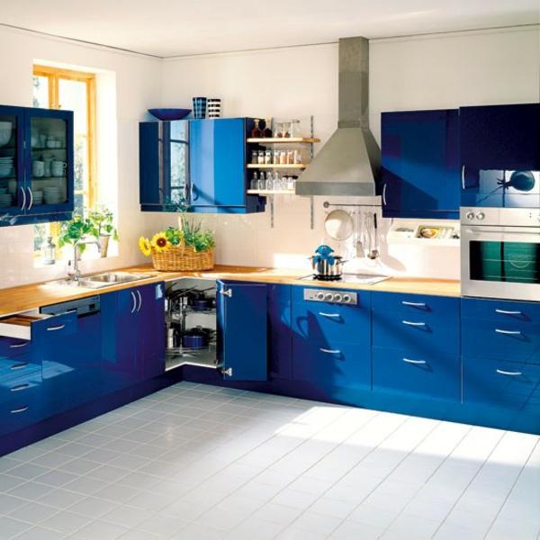 160 neue Kchenideen Blaue und grne Farbe  Archzinenet