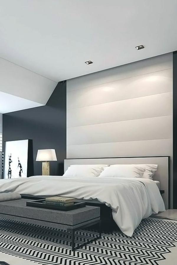 moderne dekoration schlafzimmer in grau gestaltet images