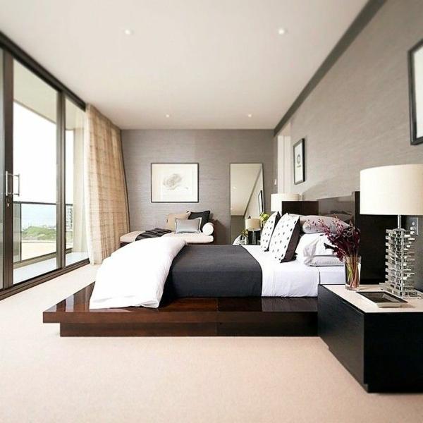 Schlafzimmer modern gestalten 48 Bilder  Archzinenet