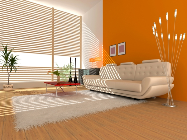 Wohnzimmer Orange Braun ~ Inspirierende Bilder Von Wohnzimmer ... Wohnzimmer Grau Orange