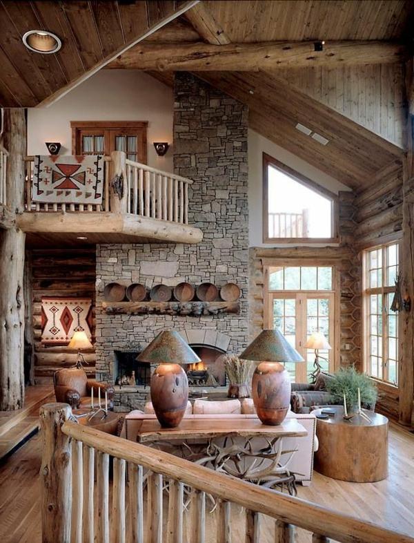 Wohnzimmer rustikal gestalten Teil 2  Archzinenet