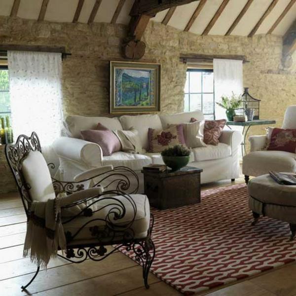 Wohnideen Wohnzimmer Rustikal ~ Inspirierende Bilder Von ... Wohnideen Wohnzimmer Rustikal
