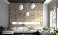 Coole Wandgestaltung frs Wohnzimmer