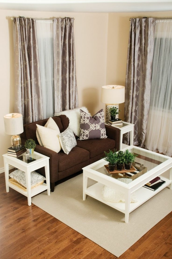 living room modern sofa designs pictures of small decor 150 bilder: kleines wohnzimmer einrichten! - archzine.net