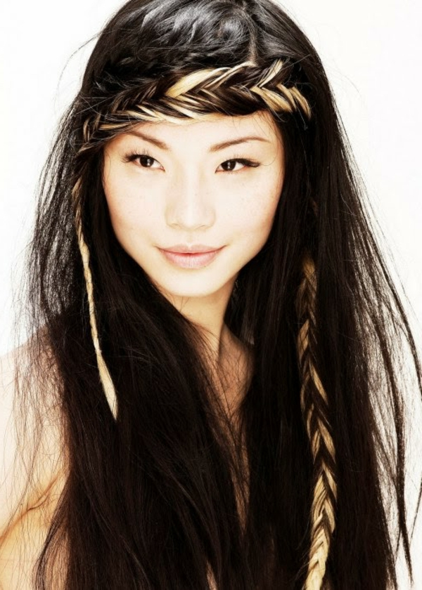 40 Einfache Frisuren Für Lange Haare! Archzine Net