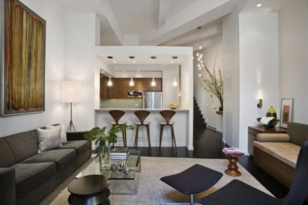 Kleines Wohnzimmer Mit Essbereich Einrichten Design. Cloiste