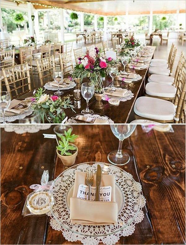 Vintage Tischdeko zur Hochzeit  100 faszinierende Ideen  Archzinenet
