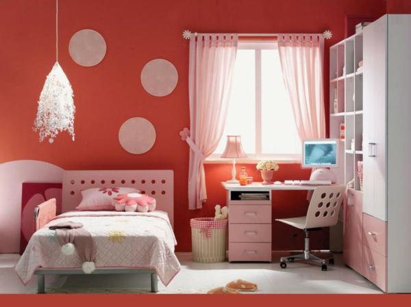 große wanduhr weiß  kleines schlafzimmer einrichten 80