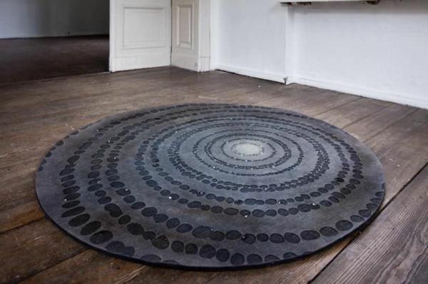 Grauer Hochflor Teppich grauer teppich palace hochflor shaggy teppich grau in 17 gr en lidl