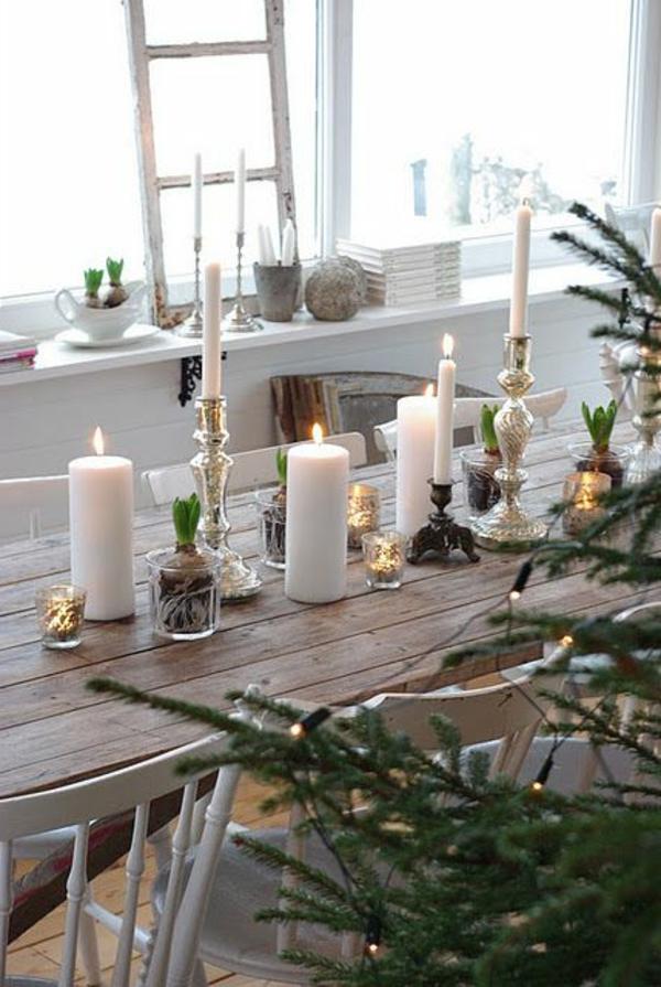 Tischdeko zu Weihnachten  100 fantastische Ideen  Archzinenet