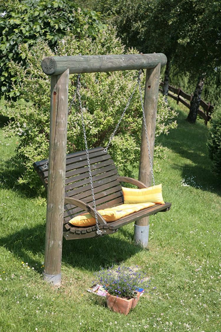 Gartenschaukel zur Entspannung Pur