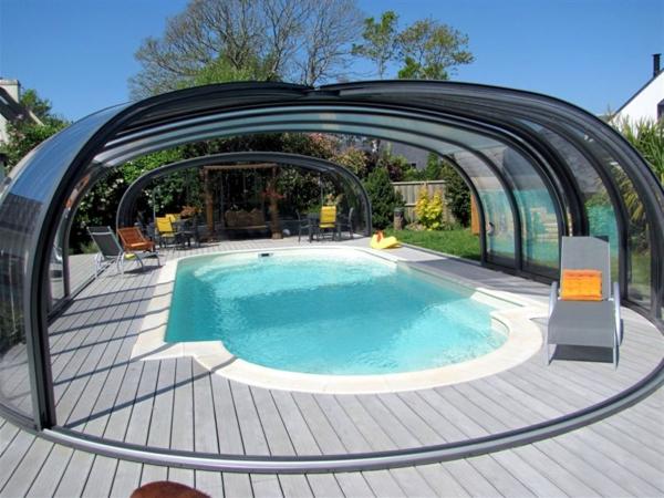 Poolberdachung  moderne und aktuelle Vorschlge