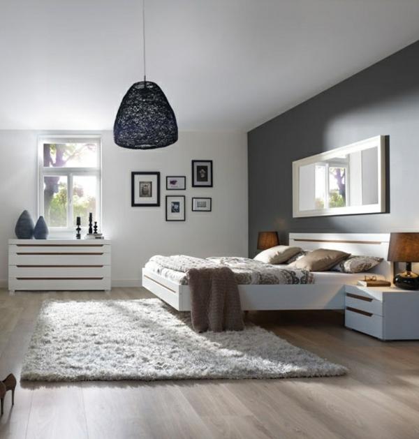 Schone Ideen Moderne Schlafzimmer Wanddeko - Wohnkultur Design ...