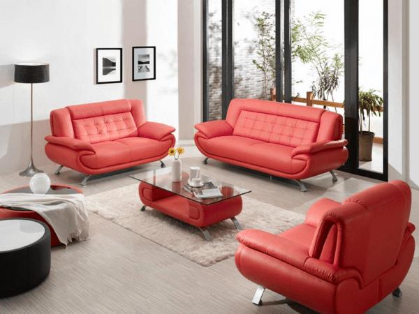 Design : Wohnzimmer Sofa Braun ~ Inspirierende Bilder Von .... Mit ... Wohnzimmer Mit Rot