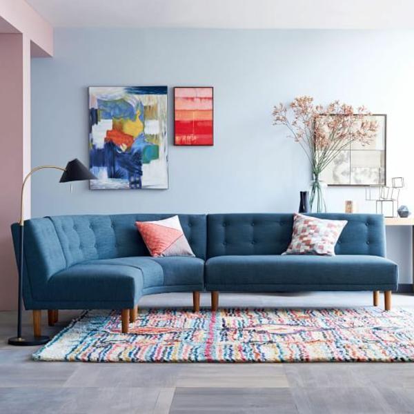 Ecksofa  105 wunderbare Modelle fr Ihre Wohnung  Archzinenet