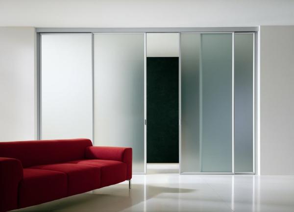 Glasschiebetren mit modernem Design   Archzinenet