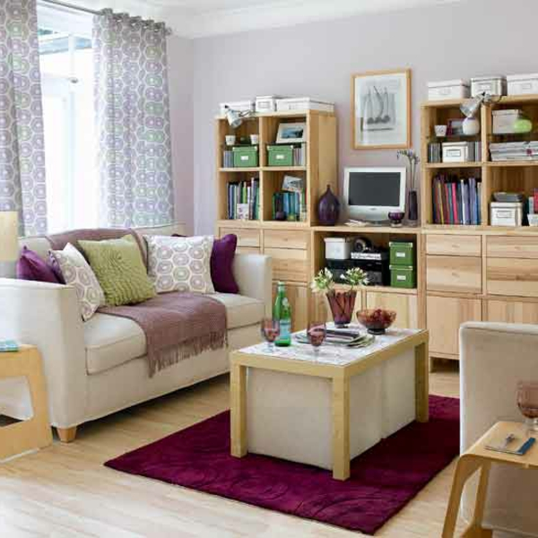 kleine wohnzimmer gemutlich einrichten | moregs