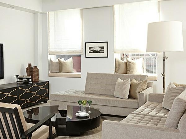 Kleines Wohnzimmer Einrichten : Kleine Räume Einrichten 50 Coole ...