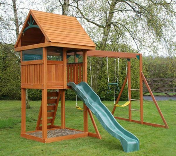 Speziell Für Kinder Klettergerüst Im Garten! Archzine Net
