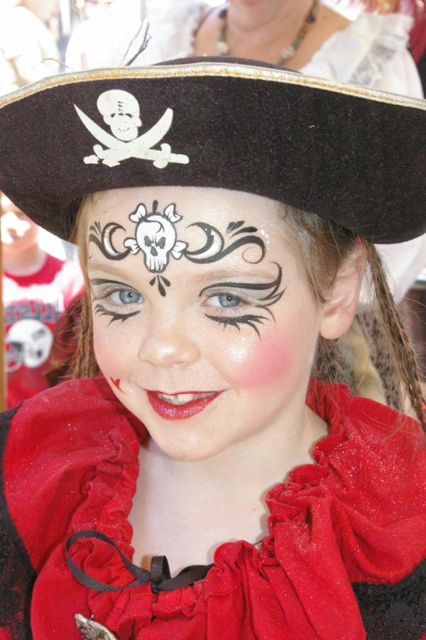 Lustiges Pirat Schminken fr Groe und Kleine  Archzinenet