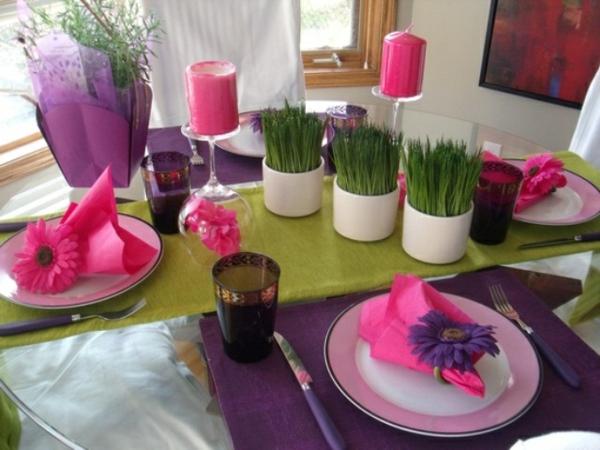 Tischdeko Frhling  100 bezaubernde Ideen zum selber machen