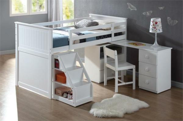 Hochbett Mit Schreibtisch Fr Das Kinderzimmer