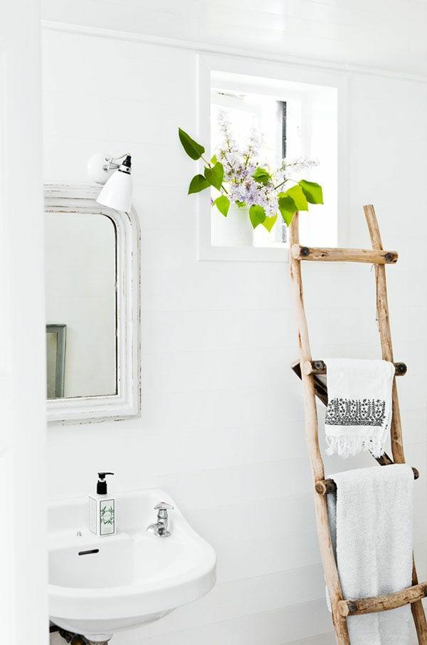 Badezimmer Handtuchhalter Holz