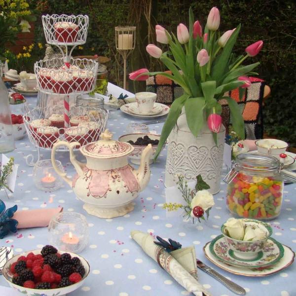 Fantastische Deko Ideen fr eine Gartenparty