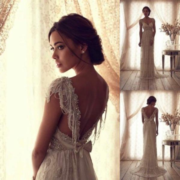 61 atemberaubende Brautkleider im vintage Stil  Archzinenet