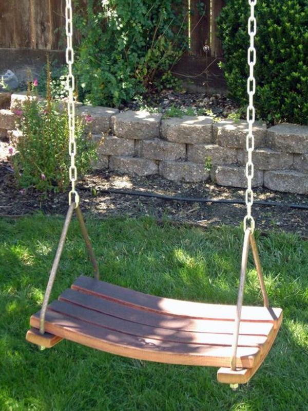 Holzschaukel Für Den Innen Und Außenbereich! Archzine Net