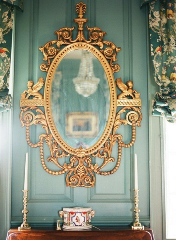 Der Barock Spiegel spricht von erster Klasse  Archzinenet
