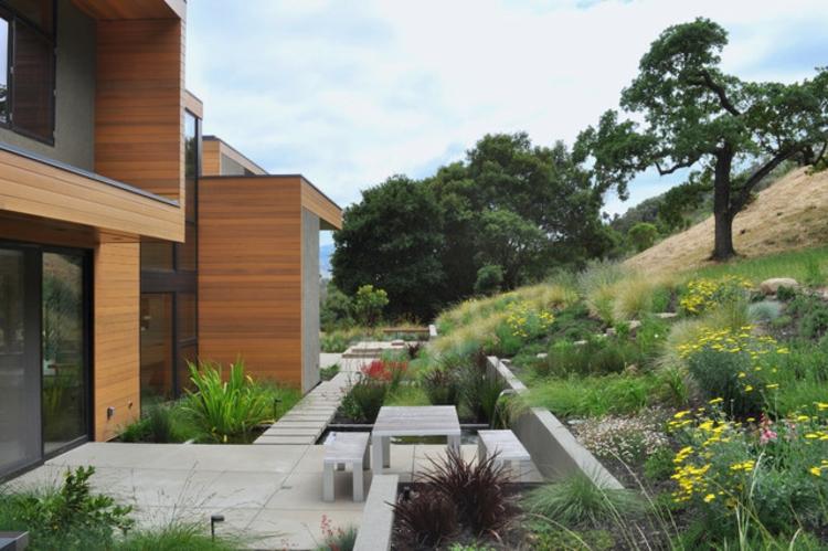 gartengestaltung modern schlicht gartengestaltung modern schlicht, Garten und Bauten