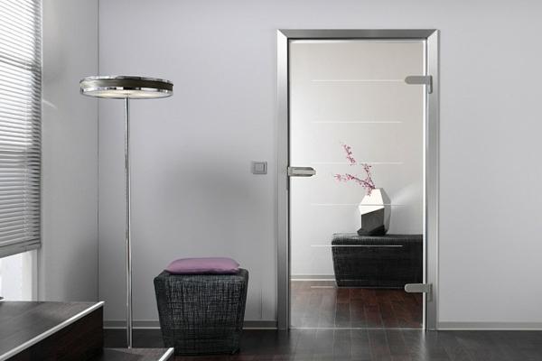 Glastren fr Innen  modern und elegant