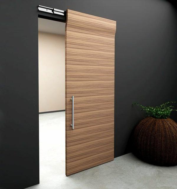 Schiebetren aus Holz  eine tolle Option fr den Wohnraum  Archzinenet